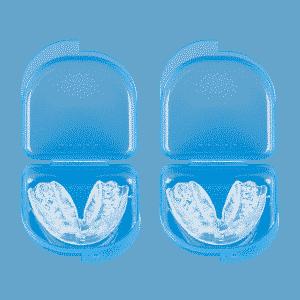 Zahnschiene gegen Zähneknirschen 2er Set